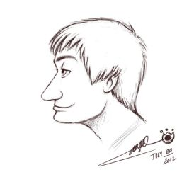 Adylitica Cartoon portrait - Alex by klbc
