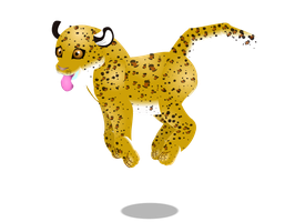 leopard cub by PurpleRat-YS