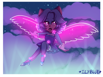 Pink Glass Wings by Starry-Arctic-Seas