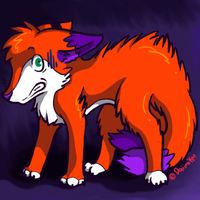 Scaredy_Fox by sproutlets