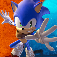 fire and ice sonic icon by hedgehognetworks