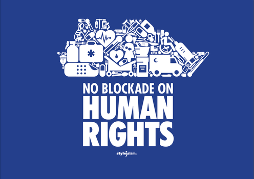 NO BLOCKADE ON HUMAN RIGHTS by ademmm