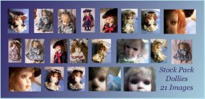 Old Stock Pack - Dolls by Gracies-Stock