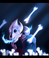 Undertale: GASTER BLASTER by Magic-Ray