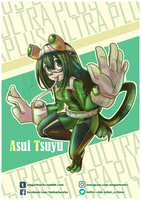 PLUS ULTRA - Asui Tsuyu by Nekoi-Echizen