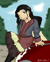I just really wanted to draw Asami by RubyCosmos