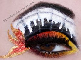 21st Century Breakdown Makeup by KatieAlves
