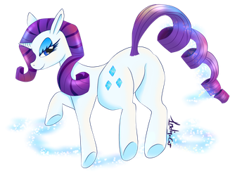 Rarity fleet - Fan art by 1ndigoCat