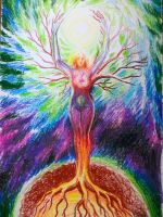 Feminine energy by CORinAZONe