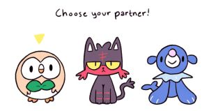 Choose your partner! by hajimikimo