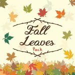 Fall Autumn Leaves Seasonal by Graphicaid820