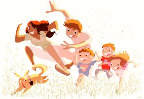 The last mad rush! by PascalCampion