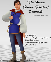 {MMD DOWNLOAD} The Prince (Prince Florian) by MariCorsair