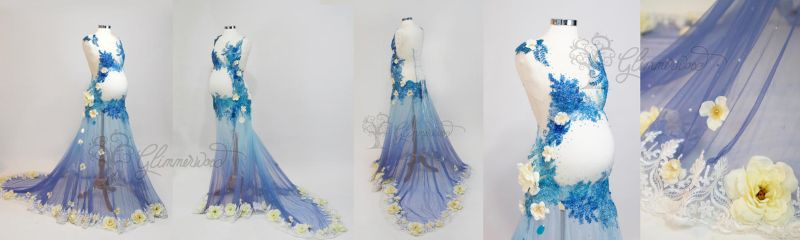 Venus Maternity Gown by glimmerwood