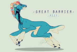 Barrier Reef by Sindonic