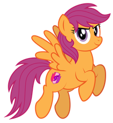 Scootaloo 10 years later by AleximusPrime