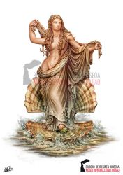 Aphrodite - Ancient Greek Mythology by DarkAkelarre