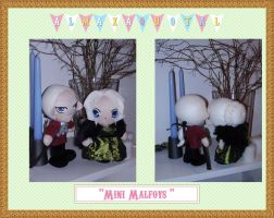 Mini Malfoys by almaxaquotal