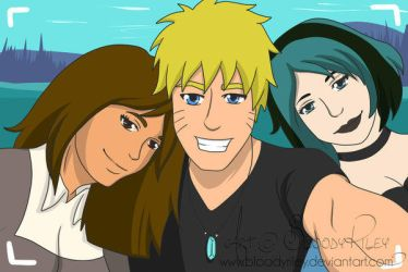 TDE : Naruto, Gwen And Courtney by TheRealKyuubi16
