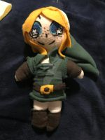 Oracle of ages/seasons Link plushie by redlinkxbluelink54