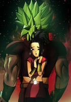 Female Broly by JamesBlade
