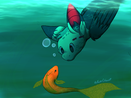 Fish and Gish by MasterOshawott