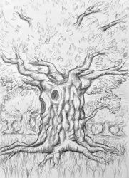 Talking tree by Veylve