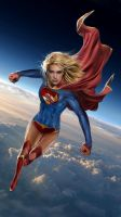 Supergirl by uncannyknack