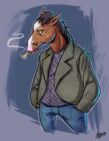 Bojack Horseman by Aktheneroth