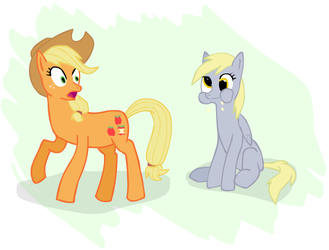 And they call Applejack silly by TrotPilgrim