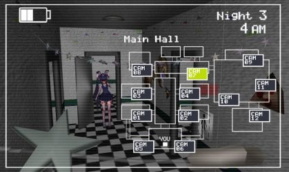 Five Nights at Freddy's 2 : Cam 07 by ValliVall36