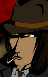 Dreki, the strangely named detective by courperationX