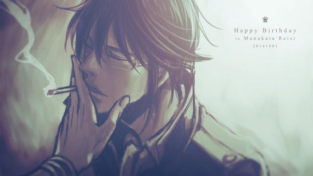 [K] Happy Birthday to Munakata by hueyo