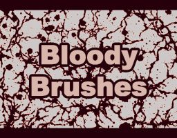 PS Blood Brushes by stephieg24
