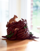 Chipmunk Coil Pot by DaffoDille