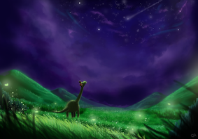 The Good Dinosaur by Henleyy