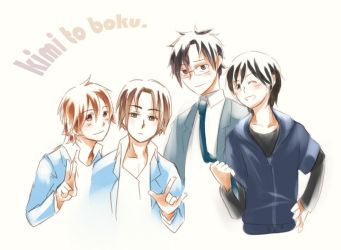 Animazation of 'Kimi to Boku' by KoujiT