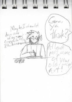 Sketchpad Musings #8: Draw More OCs by The-Metal-Maniac