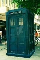Doctor Who Tardis full by mmmbisto