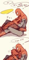Spideypool37 by LKiKAi