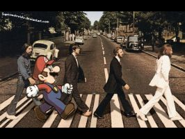 Mario and Beatles by SuperMetroid2