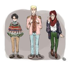 Snk Fall Fashion by wafflesrules
