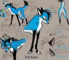 Kichi Ref Sheet by KichisCrafts