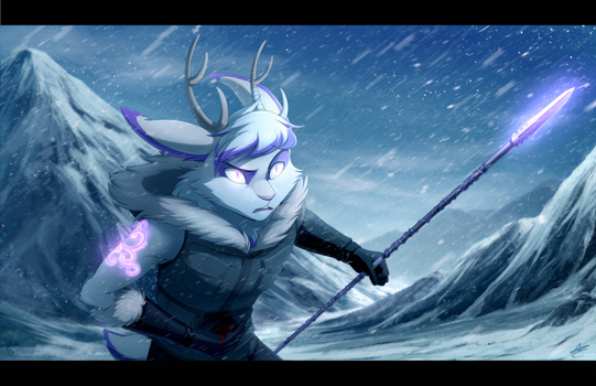 Com: Trouble in the Mountains by DragginCat