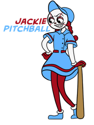 OLD: Jackie Pitchball by criaha