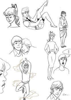 Doodles by Lollo-hehe