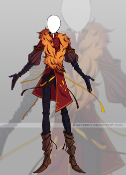 Adoptable outfit #52 - [Auction - CLOSED] by Eggperon