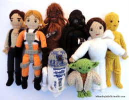 May the Force be With You by leftandrightdolls