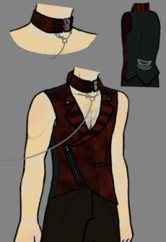 Steampunk Vest - Heath by Sheelos-lover