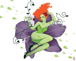 Poison Ivy by cryssy